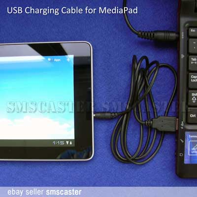 HUAWEI MediaPad USB charging cable