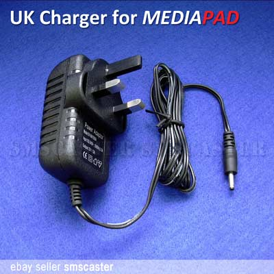HUAWEI MediaPad UK 3-pin Charger