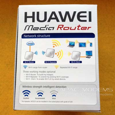 HUAWEI WS323 box